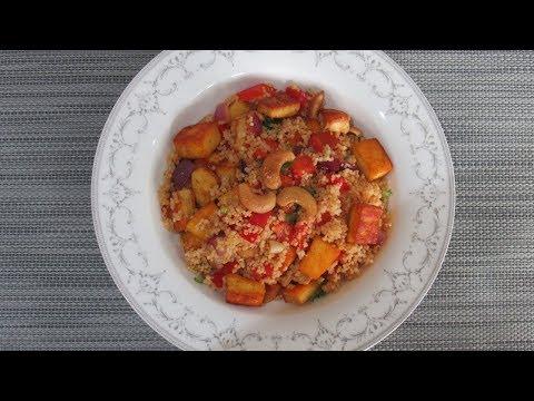 Spicy Paneer Couscous | Quick & Easy Recipe
