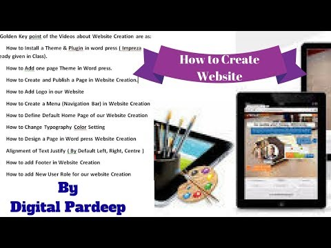 How to Make a Website   How to Build a Website   Website Creation   Creating Website 2018   Website