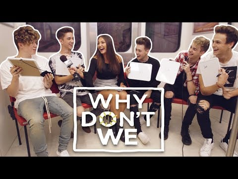 WHY DON'T WE Plays The Most Likely To Challenge | Interview with Jaclyn Forbes