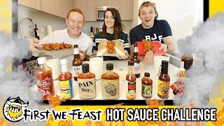 Download The Official First We Feast ″Hot Ones″ Hot Sauce Challenge Video
