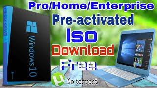 windows 10 enterprise pre activated download