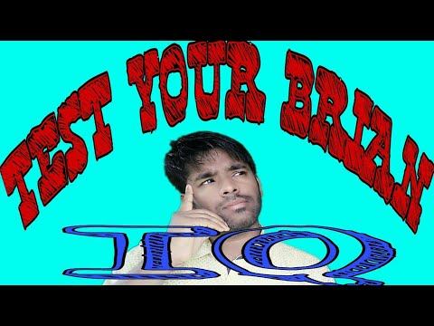 IQ test | 5 Questions To Test Your Brain