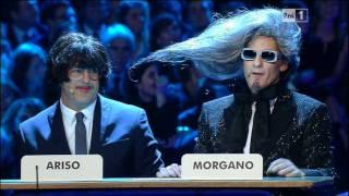 X Factor  5 , Fiorello e Baldini in Morgano e Ariso con Jovanotti