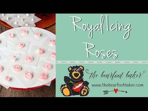 How to Make Royal Icing Roses