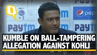 The Quint: Kumble on Virat's Ball-Tampering Allegation and Parthiv's Return