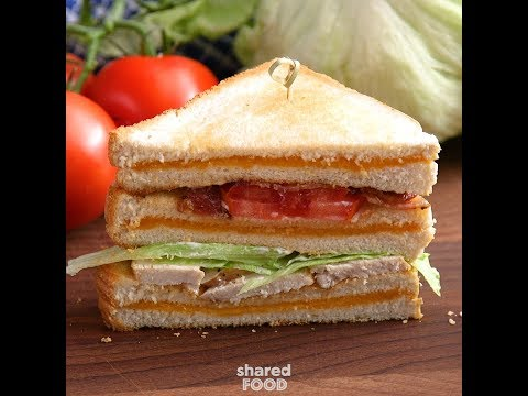 Grilled Cheese BLT Club