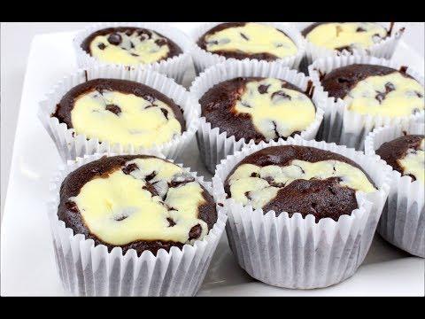 Chocolate & Cream Cheese Cupcakes