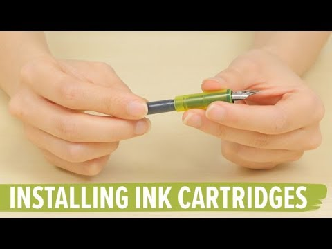 How to Install Ink Cartridges