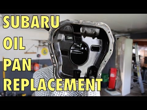 Subaru Oil Pan Replacement