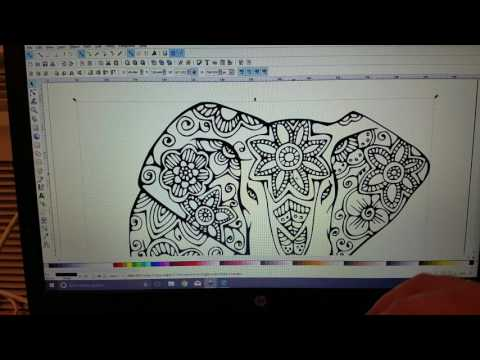 Converting image into svg using inkscape