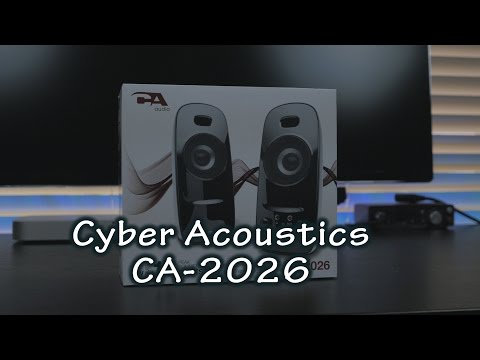 Cyber Acoustics CA 2026 Desktop Speakers