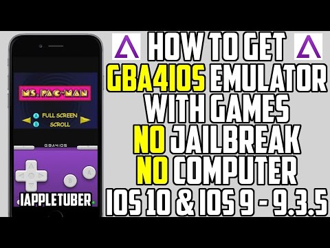 How To Install GBA4iOS on iOS 10 & iOS 9 - 9.3.5 + Get Games/ROMs (NO JAILBREAK NO COMPUTER)