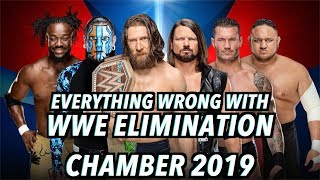 Episode #415: Everything Wrong With WWE Elimination Chamber 2019