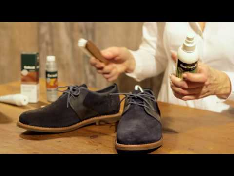 Collonil UK - How to clean your leather mix shoes
