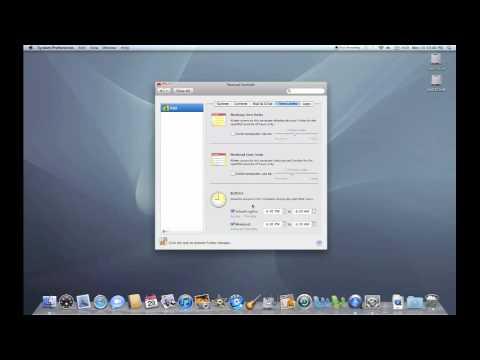 Mac OS X Parental Controls