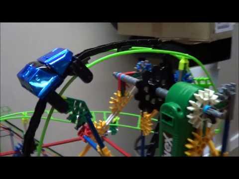 Knex Roller Coaster Build | Loopin Lightning