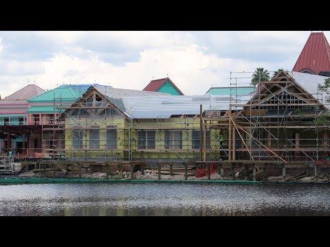Disney's Caribbean Beach Resort Construction Update | Spyglass Grill, Gondola Update & More!