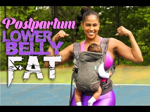 LOSING MY POSTPARTUM LOWER BELLY FAT (POUCH) | CHINACANDYCOUTURE