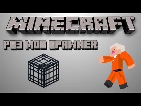 Minecraft PS3 Skeleton Spawner Trap Tutorial!!