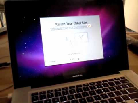 Transferring Your Information to a New Mac (Target Disk Mode)