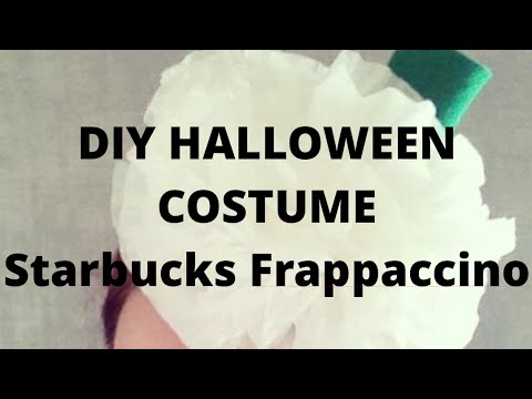 Frappaccino DIY Halloween Costume