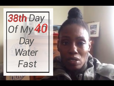 38th day of my 40 day water fast! Sea Salt changed the game!