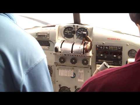 Landing in Seaplane at Turtle Island Fiji