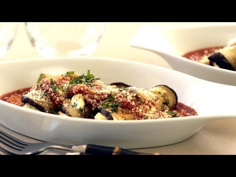 Roasted Eggplant Roulade Recipe | Kin Community