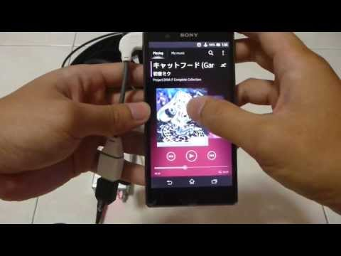 (Tutorial) Connecting Android Devices to DAC (Xperia Z, Headamp Pico Amp+DAC, USB OTG)