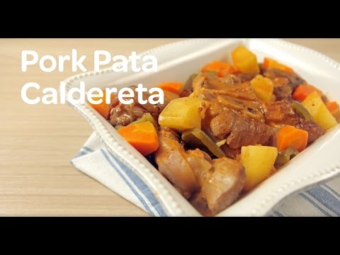 Pork Pata Caldereta Recipe