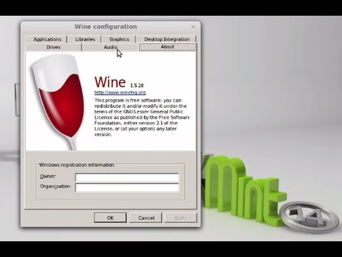 How to Install Wine ( Wine1.5) on Linux Mint 13/14