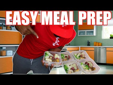 MEAL PREP FOR WEIGHT LOSS BEGINNERS