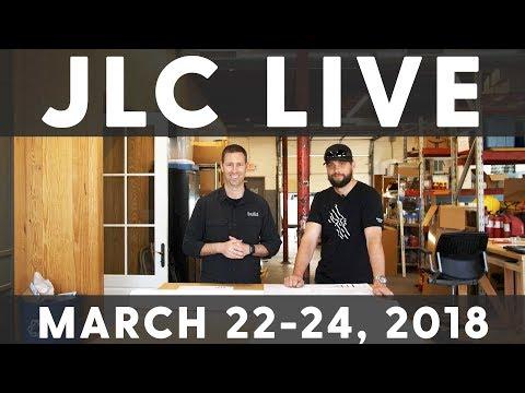 The Build Show JLC LIVE Schedule