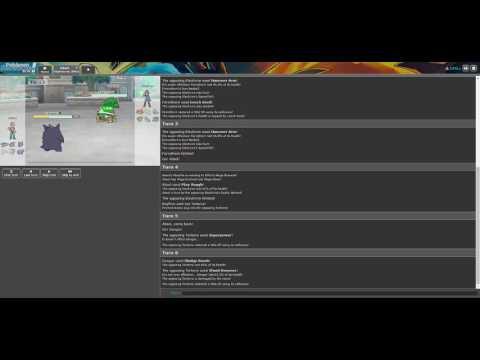 How to easy kill Tyranitar (Ubers Battle) - Pokemon Showdown #2