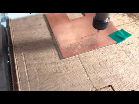 CNC 3020 Thinnest Tracks/Pads for Isolation Milling PCB at Home