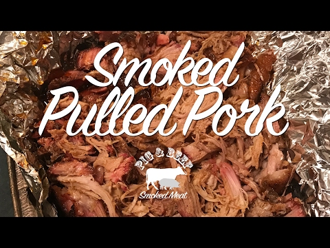 Smoked Pulled Pork - Smoked on a Wood Pellet Grill (Traeger)