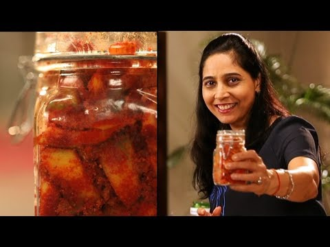 Hing Mango Pickle | Family Food Tales with Mrs Alyona Kapoor | Sanjeev Kapoor Khazana