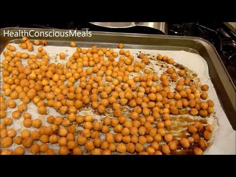 Tamari Roasted Chickpeas Recipe by Plant Powered Kitchen - HealthConsciousMeals