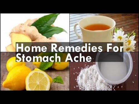Home Remedies For Stomach Ache
