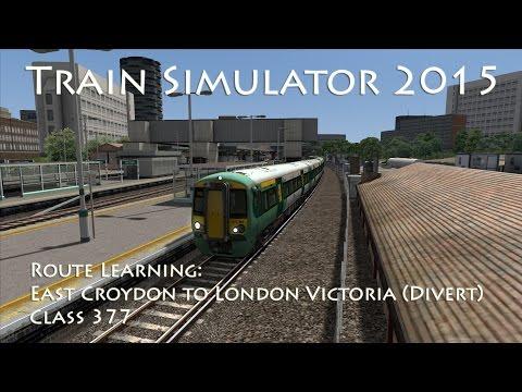 Train Simulator 2015 - Route Learning: East Croydon to London Victoria via Brixton