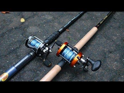 Berkley E-Cat Vs  Bass Pro Shop Cat Maxx - catfish rod review