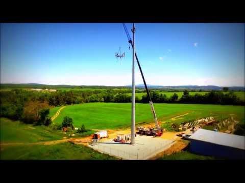 Work - Building a Cell Tower