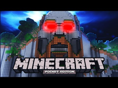 IS THIS THE SCARIEST MAP IN POCKET EDITION MINECRAFT!?