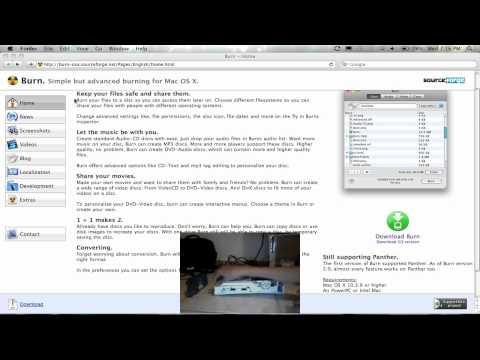 How to burn Xbox 360 games on mac