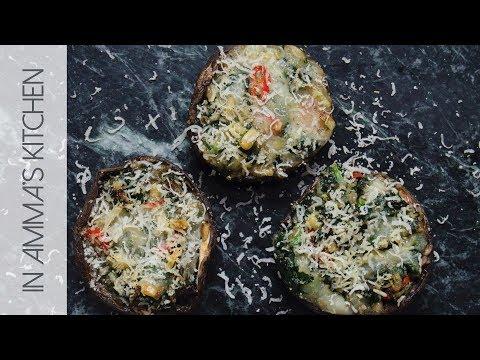 Stuffed  Portobello Mushroom Recipe