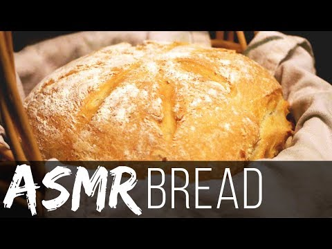 (Slow Whisper) EASY, Delicious Homestead Bread Recipe ASMR (Crunchy Eating)