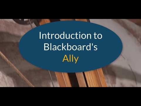 A quick look at Blackboard's A11y