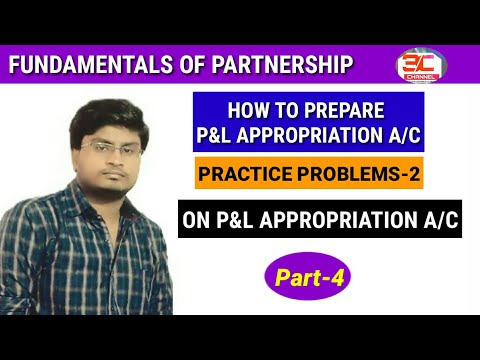 Profit and loss appropriation a/c  class 12 partnership fundamental  video 7