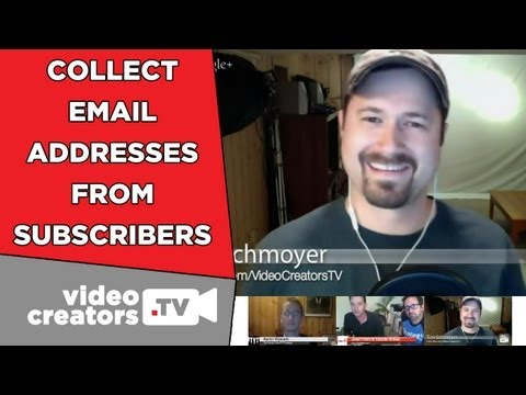 How To Collect Email Addresses from YouTube Subscribers