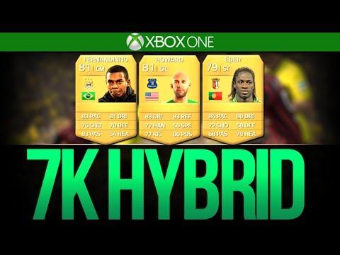 FIFA 14 ULTIMATE TEAM | 7K OP HYBRID!!